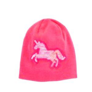 Pink Unicorn Cap 2T-4T